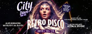Retro Disco - retro árakon ★ City Disco (2019/10/19) @ City Disco Official | Supljak | Serbia