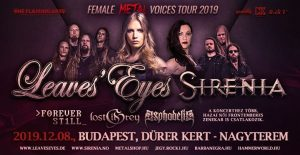Female Metal Voices Tour 2019 ▲ Dürer Kert @ Dürer Kert | Budapest | Hungary