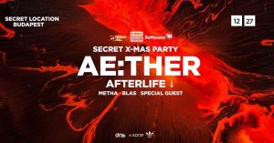 Cinema Hall & Be Massive & Code 360: Ae:ther (Afterlife) @ Budapest | Budapest | Hungary