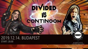 Fusion Night Vol.4 // Continoom vs. divideD a Robot-ban! @ Robot | Budapest | Hungary