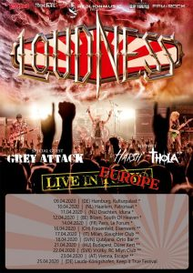Loudness live in europe