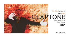 09/25 Claptone by The Debut #205 @ Cinema Hall Budapest | Budapest | Hungary