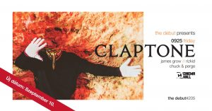 09/10 Claptone by The Debut #205 @ Cinema Hall Budapest | Budapest | Hungary